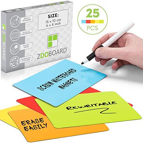 Scrum tarjetas magnetico reutizable - 15