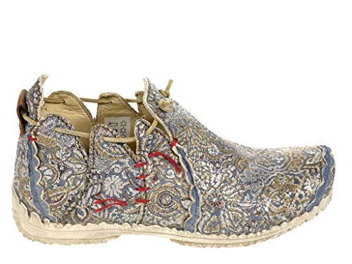 Rovers Damen Schuhe Leder Schnürhalbschuhe 60001 (41 EU)