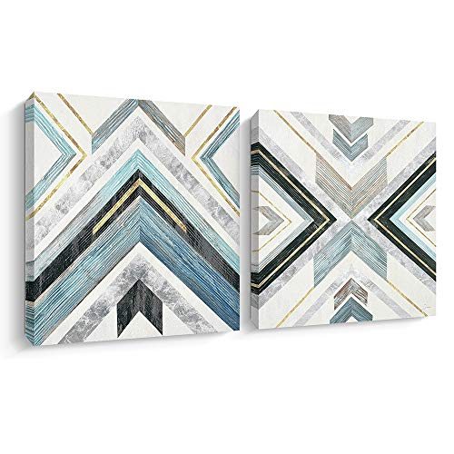 Abstract Canvas Wall Art Geometric Artwork Home Wall Decor Picture Canvas Prints (CD)