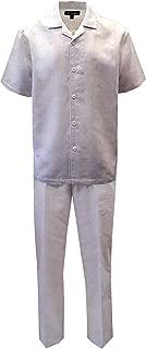 all white linen suit mens