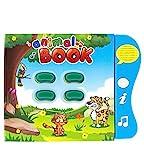Libro de Sonidos Boxiki Kids para el Aprendizaje de los Animales en Inglés por...