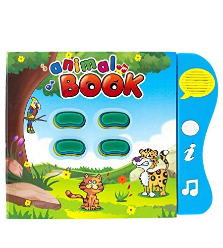 Animal Learning Sound Book Toy for toddlers 6 months to 3 years old. Baby...