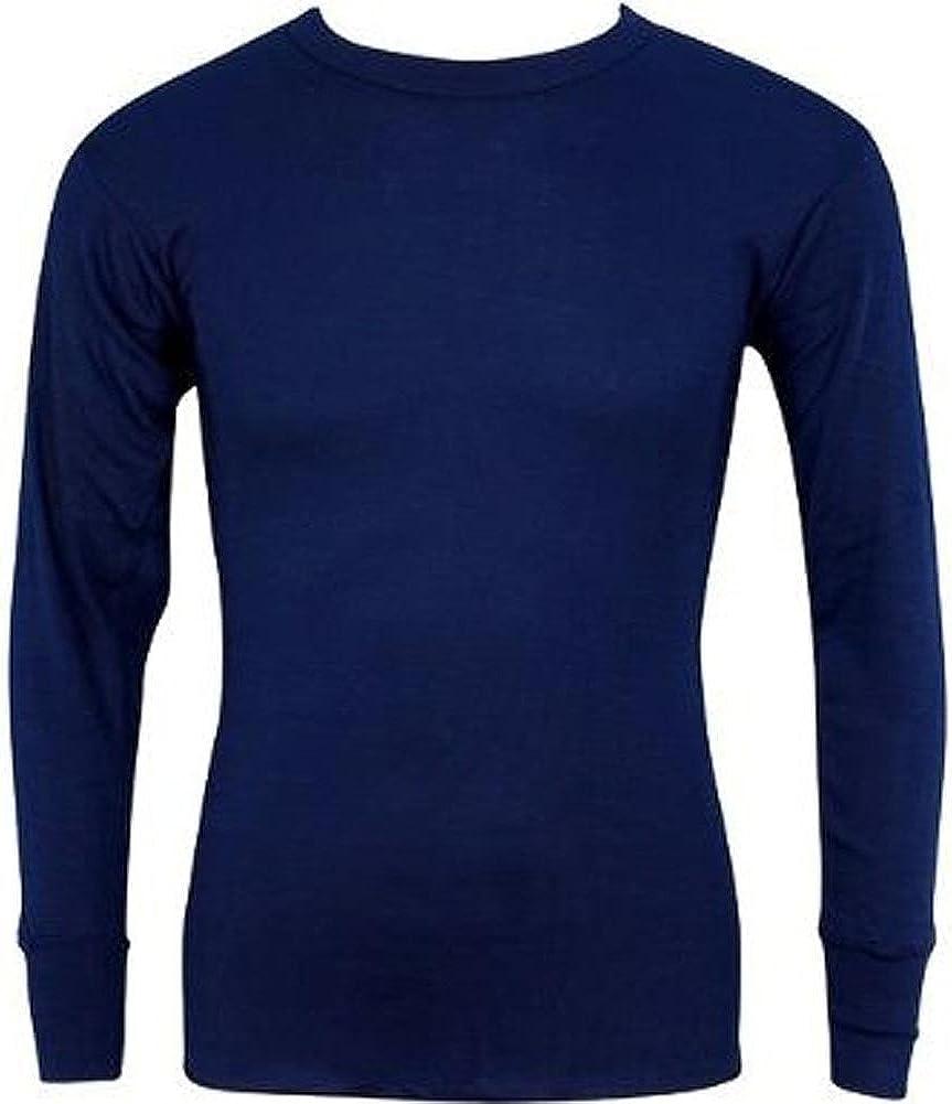 Indera - Mens Regular and Tall Long Sleeve Thermal Top, 800LS
