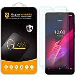 (2 Pack) Supershieldz for T-Mobile Revvl 4 Tempered Glass Screen Protector, Anti Scratch, Bubble Free