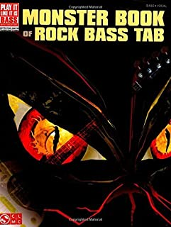 Monster Book of Rock Bass Tab (Play It Like It Is Bass) (English Edition)