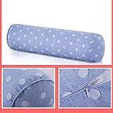 AjAsh7 Cuscino Cilindrico Tessuto 15 * 60cm Cuscino Lungo Sostegno Letto Cuscino Addormentato Dolore Non Deformato Dormire Rilassamento Regolazione Dorso Cervicale Lavabile Singola/Doppia