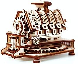 Wooden.City V8 Engine Mechanical Model Kit 14 x 10 x 10.7 cm.