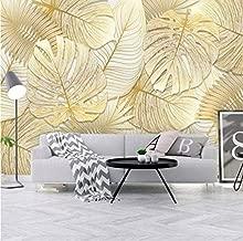 HUANGYAHUI Fotomurales Hojas Frescas De /Árboles Selva Verde Selva Tropical Papel pintado Papel Pintado murales decoraci/ón de paredes moderna