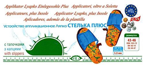 "AALP «Einlegesohle Plus»5,0, Akupunktur, Massagematte Lyapko, Ljapko, Аппликатор Ляпко ""Стельки Плюс"