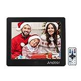 Andoer 15 '' HD TFT-LCD 1024 * 768 Digitale Bilderrahmen Wecker MP3 / MP4 Player mit...