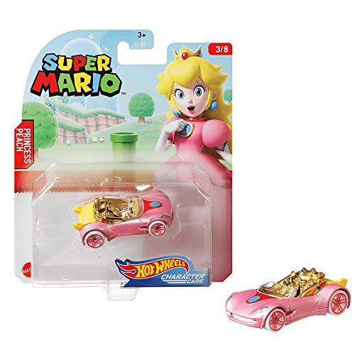 Hot Wheels Super Mario Car - Princesa Peach