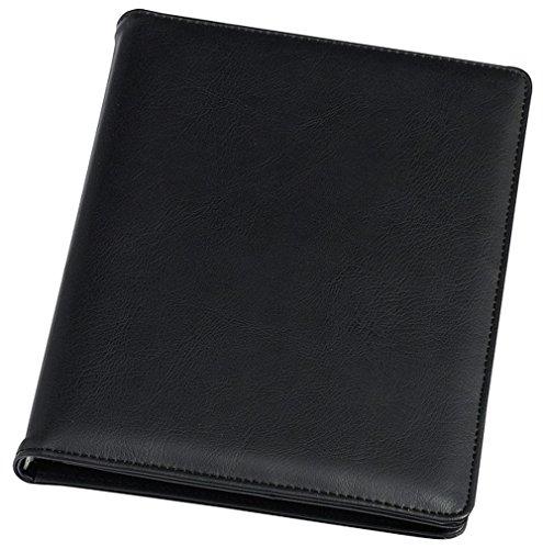 Rillstab Sichtbuch Ambassadeur A4, 98024, 20 Innentaschen, schwarz