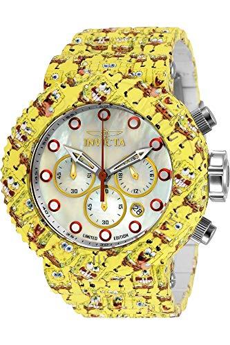 Invicta Character - Spongebob 32521 Herren-Armbanduhr, Quarz, 52 mm