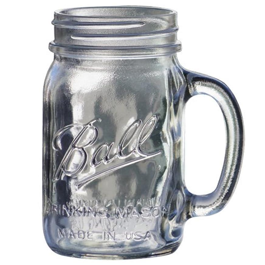 取り組むアンプ城BALL メイソンジャー [ ドリンキングマグ 480ml クリア ] Mason jar DRINKING MUG 正規品