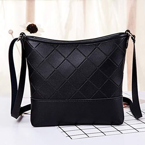 Modieuze schoudertas in alle stijl casual tas enkele schoudertas damestas zwart