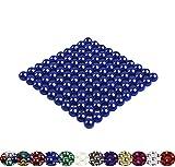 LaoSiJi, 100 sfere magnetiche da 5 mm per lavagne magnetiche, frigorifero Bianco