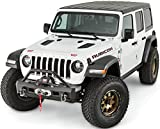 WARN 101330 Elite Series Stubby Front Bumper for Jeep JL Wrangler, with Grille Guard Tube