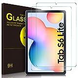 ELTD Protector de Pantalla para Samsung Galaxy Tab S6 Lite 10.4, 9H,2.5D, Vidrio Templado Glass Film Protector de Pantalla para Samsung Galaxy Tab S6 Lite 10.4 Pulgadas dispositivoa, 2 Pack