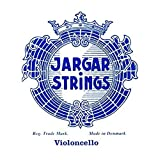 CUERDAS VIOLONCELLO - Jargar (Azul) (Cromo) 1ª Medium Cello 4/4