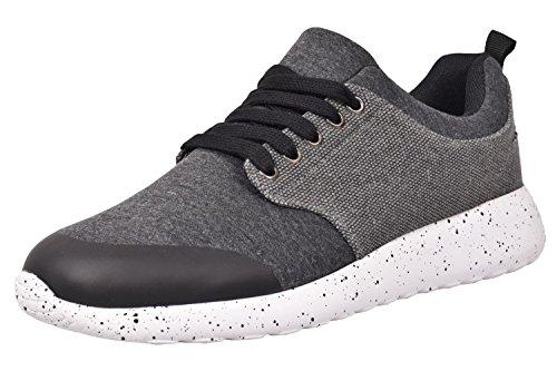 Loyalty & Faith, Sneaker uomo Nero Nero 46.5 EU , Grigio (Charcoal), 42.5