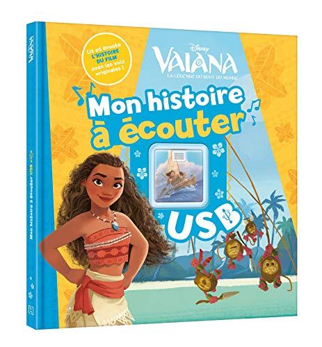VAIANA - Mon Histoire à Écouter - L'histoire du film - Livre clé USB - Disney