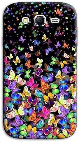 Mixroom - Cover Custodia Case in TPU Silicone Morbida per Samsung Galaxy Grand Neo I9060 (Plus) M575 Farfalle Multicolore