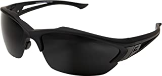 Edge Eyewear Acid Gambit 3 Lens Kit, Matte Black Frame/Clear Vapor Shield, Tiger's Eye Vapor Shield, G-15 Vapor Shield Lenses
