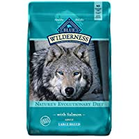 Blue Wilderness High Protein Grain Free Salmon Recipe With Lifesource Bits Large Breed 24LBS by BLUE Wilderness
