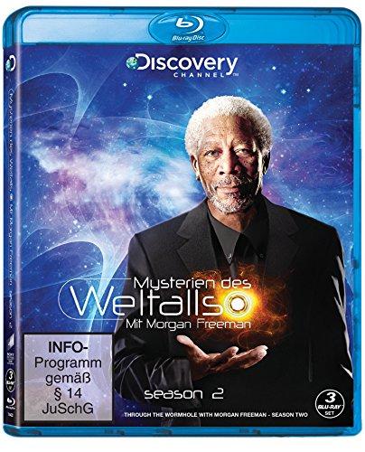 Mysterien des Weltalls - Mit Morgan Freemann - Season 2 (Discovery - 3 Discs) [Blu-ray]