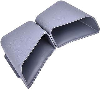 EKIND Universal Car A-pillar Storage Boxes for Sun Glasses/Glasses, Perfect Storage Organizer - Easy Stick On (Gray)