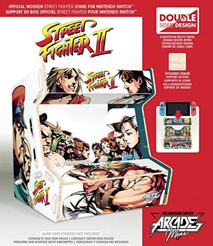 Meridiem Games - Street Fighter Arcade Mini - Nintendo Switch [Edizione: Spagna]