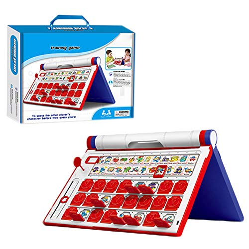 Xuanshengjia Neu Wer Bin Ich Ratespiel, Frage- Und Antwortmodus Lustiges Ratespiel, Eltern-Kind-Interaktions-Brettspiel, Party-Spieler-Spielzeug Für Kinder Geschenk