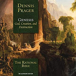 The Rational Bible: Genesis                   By:                                                                                                                                 Dennis Prager                               Narrated by:                                                                                                                                 Tom Parks                      Length: 19 hrs and 47 mins     18 ratings     Overall 4.5