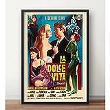 ZzSTX Das Süße Leben La Dolce Vita Federico Fellini Retro