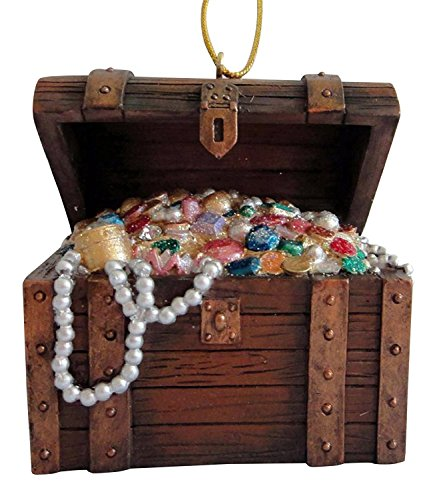 December Diamonds Treasure Chest Ornament