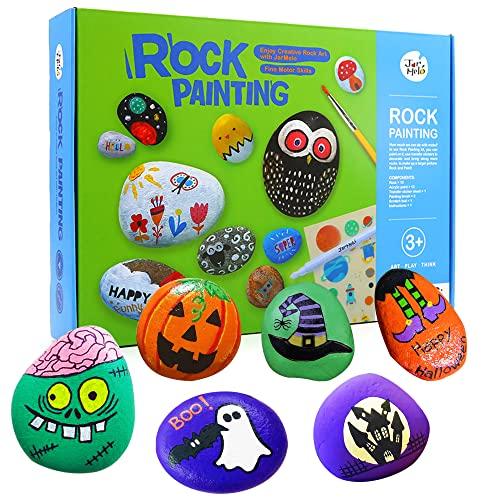 Jar Melo Rock Painting Kits for Kids; Hide & Seek Rock Kits; Crafts for Kids;...