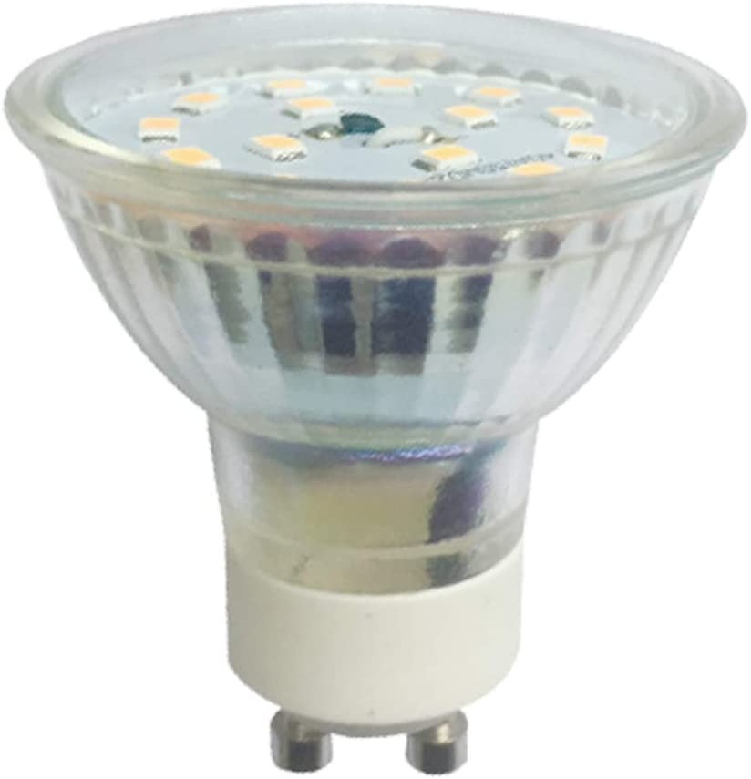 flimmerfrei nicht dimmbar 2 Jahre Garantie 5W 430 Lumen warmwei/ß SMD LED Strahler 230V AC greenandco/® CRI97+ 2700K 110/° LED Spot ersetzt 50 Watt GU10 Halogenstrahler