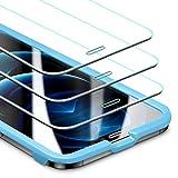 ESR Pellicola Compatibile con iPhone 6.1 Pollice 12 e 12 PRO, 3 Pezzi, Vetro Temperato Protezione