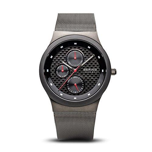 BERING Herren-Armbanduhr Analog Quarz Edelstahl 32139-309