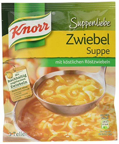 Knorr Suppenliebe Zwiebel Suppe 3 Teller