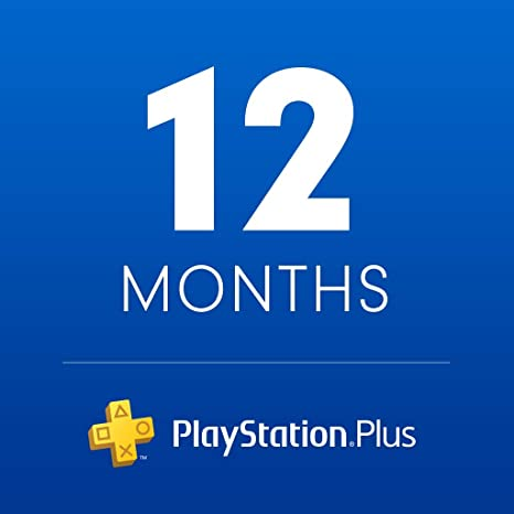 Amazon Com Playstation Plus 12 Month Membership Digital Code Video Games