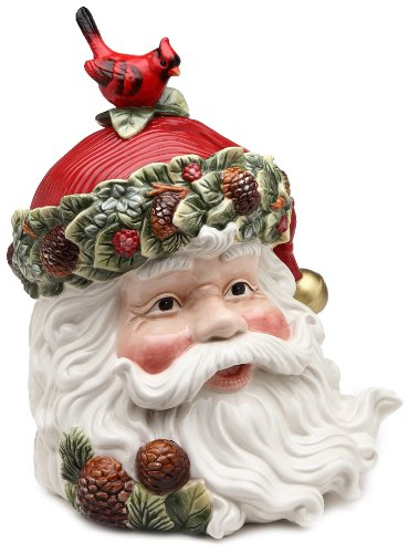 Image of Stunning Santa Claus Cookie Jar