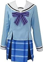 Nsoking Happy Sugar Life Matsuzaka Satou Dress High School Uniform Koube Shio Costume