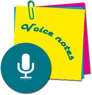 Voice notes - quick recording of ideas