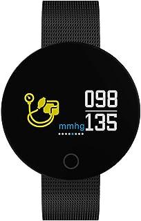 Pulsera Inteligente YMCMC, Resistente al Agua, Reloj de Pulsera, pulsómetro, detección de presión Arterial, Reloj Inteligente, Pulsera de Fitness, Pulsera de Actividad, rastreador multifunción.