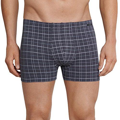 Schiesser Herren Shorts Boxershorts, Grau (Anthrazit), Large