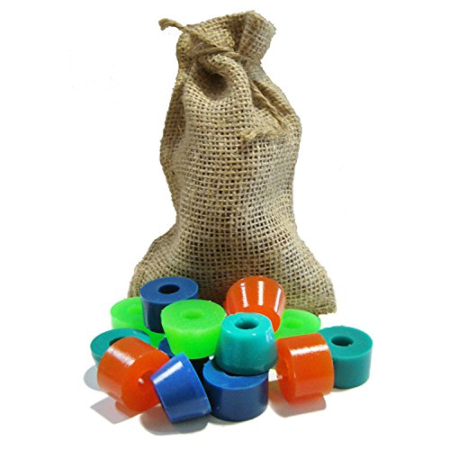 Hairy Bushings Free Slide Hairy Sack Longboard Bushing Kit - Light
