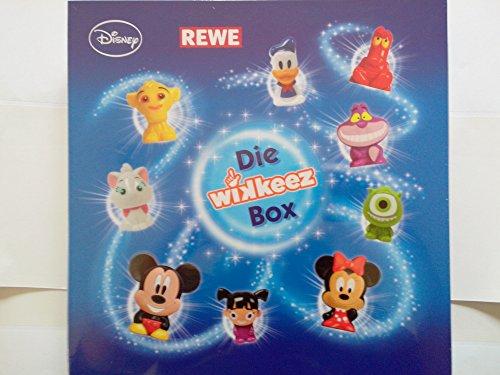 REWE - Die WIKKEEZ Box - Sammelbox 2014 neu OVP