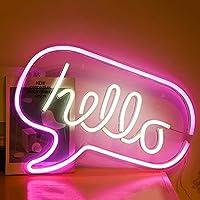 LEDネオンライトサイン、USBアート装飾ライトバックプレーンナイトライト屋内ベッドサイドとテーブルランプの装飾結婚式のパーティーバーパブコーヒーショップ壁の装飾,I