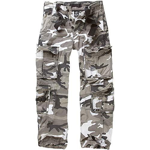 Brandit Pure Vintage Pantalones, Mehrfarbig (Urban 15), 50 (tamaño del Fabricante : M) para Hombre